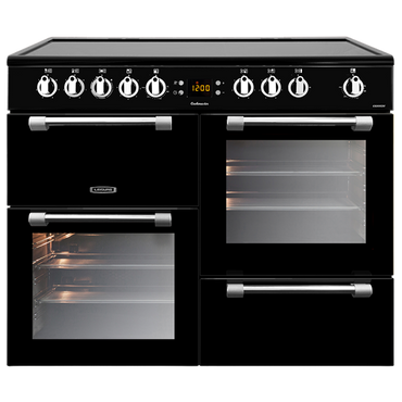 Leisure CK100C210K 100cms Electric Range Cooker - Black