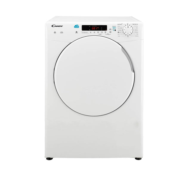 Candy CSV9DF 9kg Vented Tumble Dryer - White