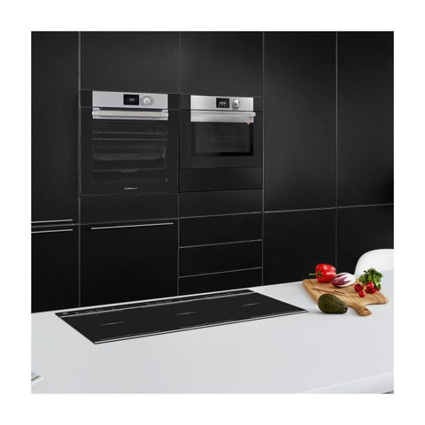 De Dietrich DOP7200BM Built-In Electric Single Oven - Black & Stainless Steel