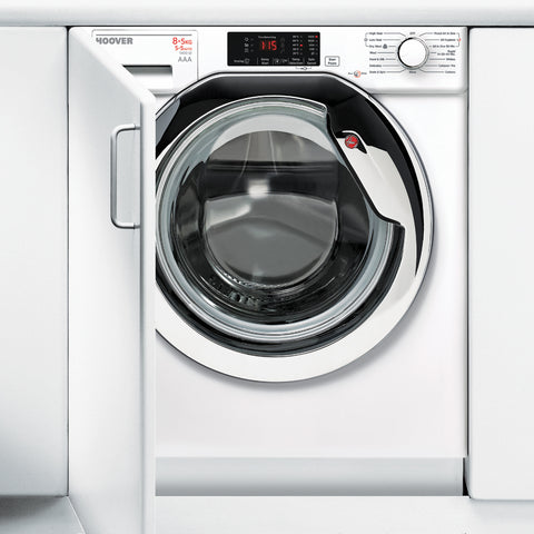 Hoover HBWD8514DAC 8kg 1400rpm Built-In Washer Dryer - White