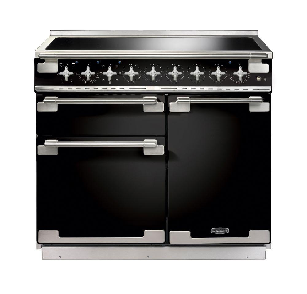 Rangemaster ELS100EIGB/ Elise 100cm Induction Range Cooker - Black 100160