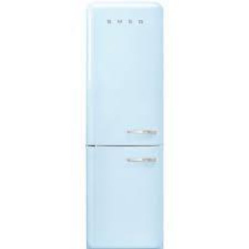 Smeg FAB32LPB3UK Left Hand Open Fridge Freezer - Pastel Blue