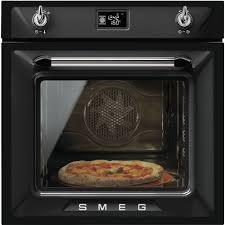 Smeg Victoria SF6922NPZE1 60cm Built-In Electric Oven - Black