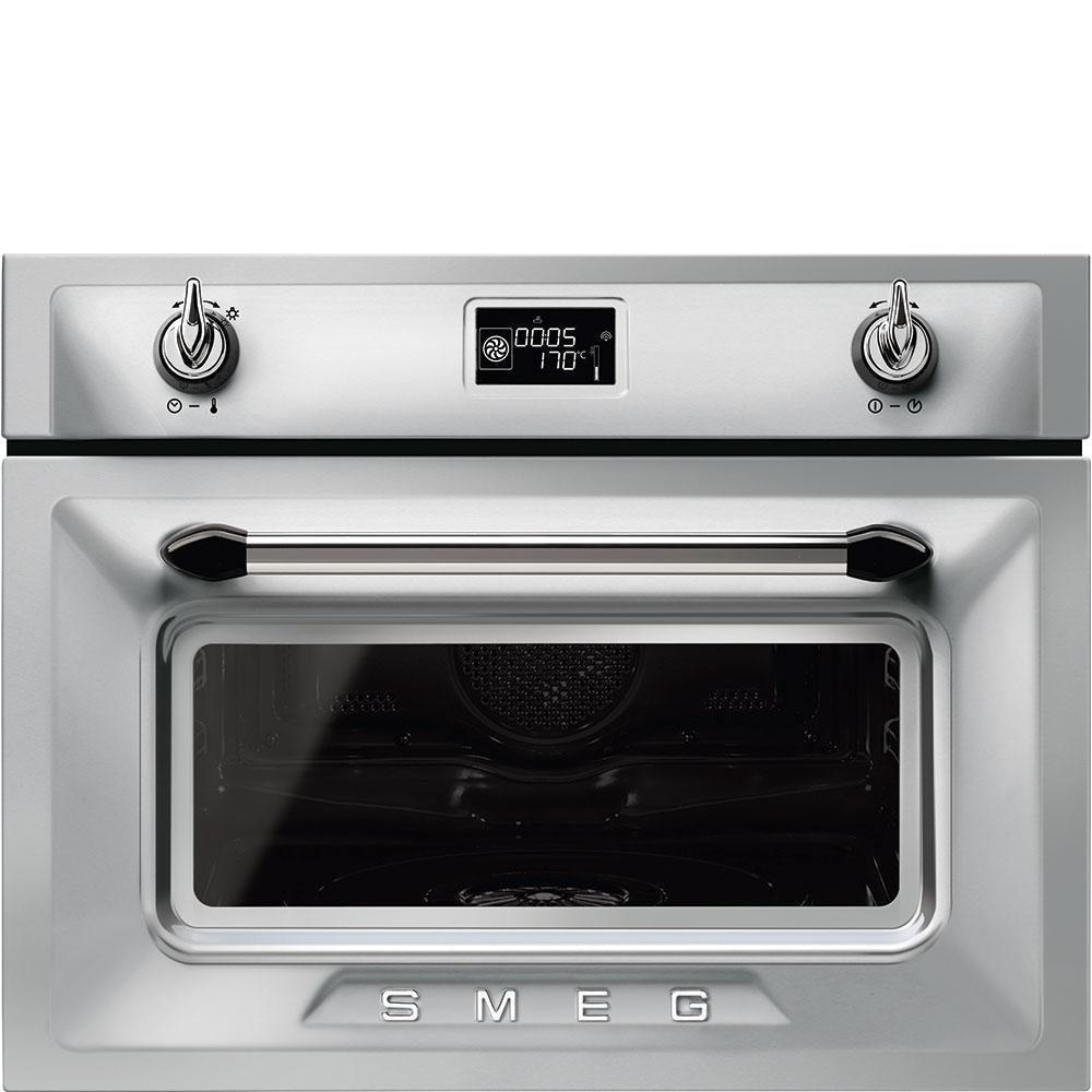 Smeg Victoria SF4920VCX1 41L Built-In Steam Oven - Stainless Steel