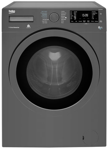 Beko WDX8543130G 8kg 1400rpm Washer Dryer - Graphite