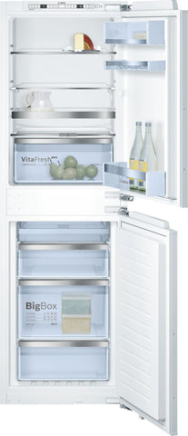 Bosch KIN85AF30G 50/50 Built-In Fridge Freezer - White
