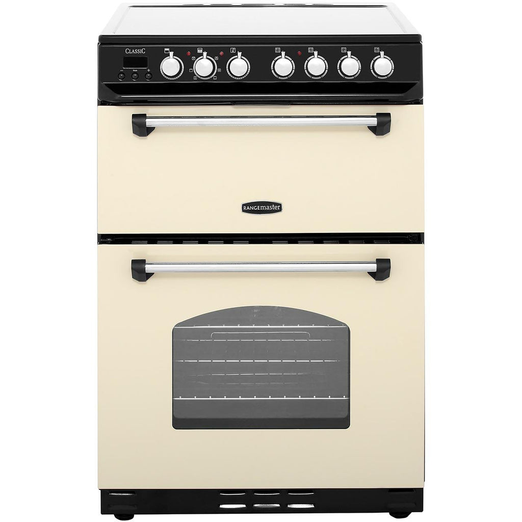 Rangemaster CLAS60ECCR/C 60cm Electric Cooker - Cream