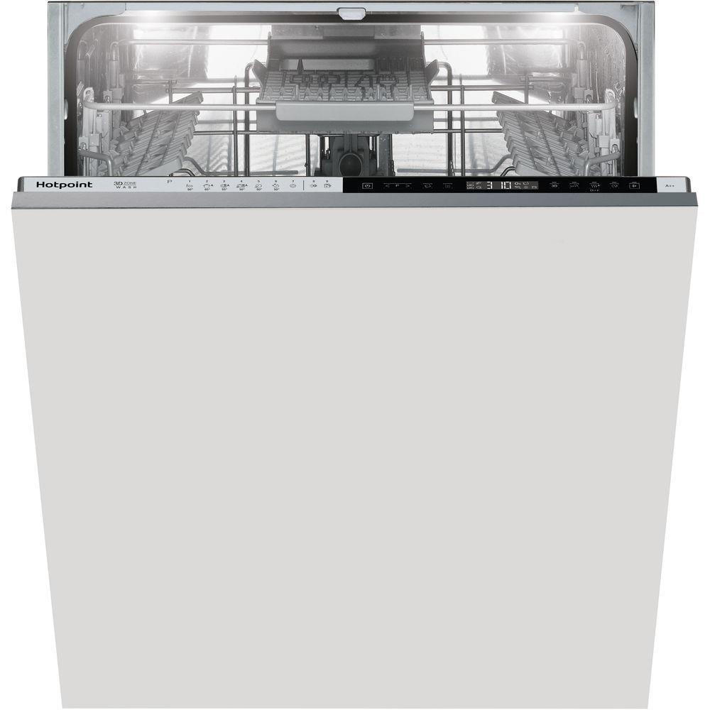 Hotpoint HIP4O22WGTCE14 place Built-In Full Size Dishwasher - White
