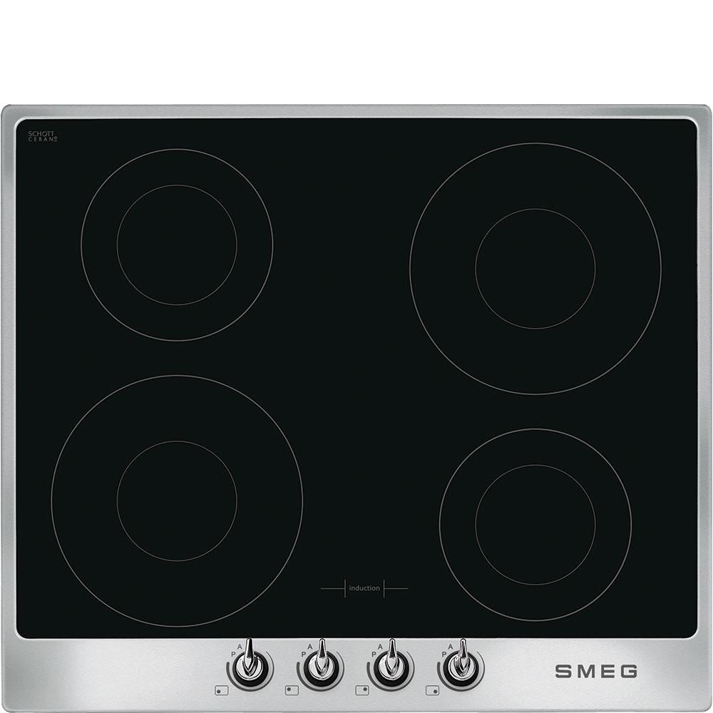 Smeg SI964XM 60cm Induction Hob - Stainless Steel
