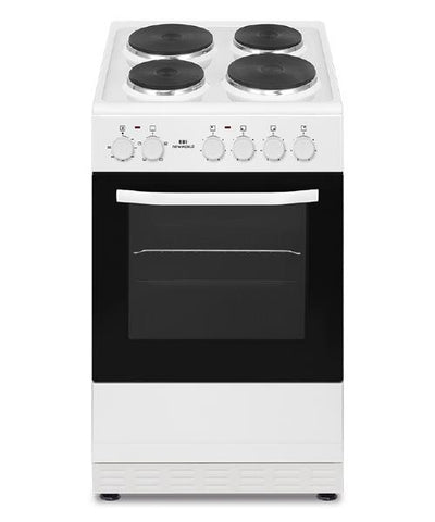 New World NWSIM50EW 50cm Electric Cooker - White