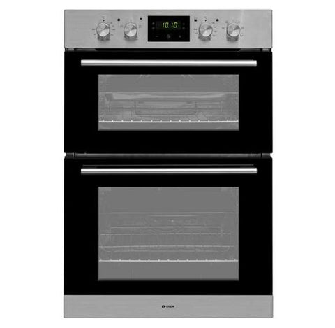 Caple C3248 90cm Built In Double Oven - Stainless Steel