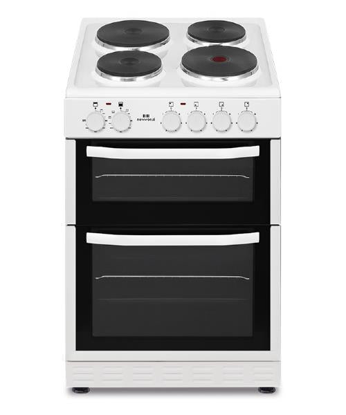 New World NWSIM52EW 50cm Electric Cooker - White
