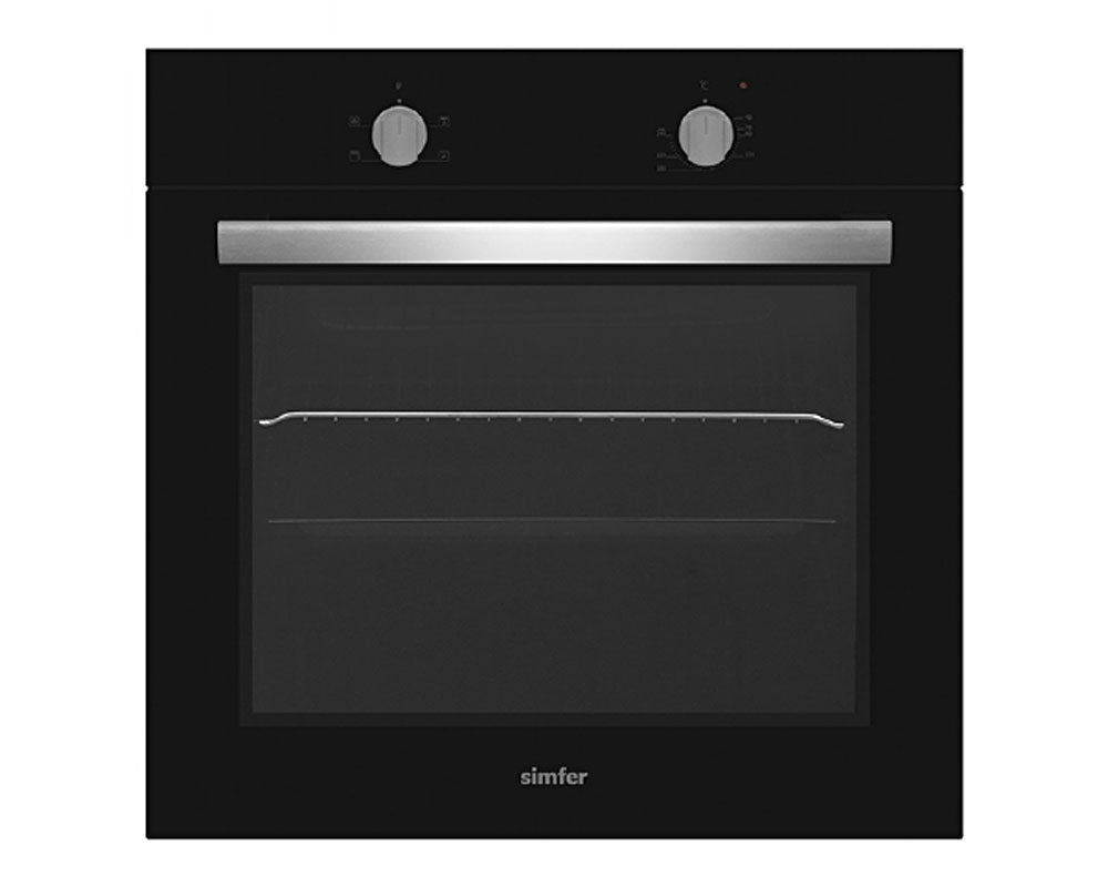 Simfer FOT60B 60cm Built In Oven - Black