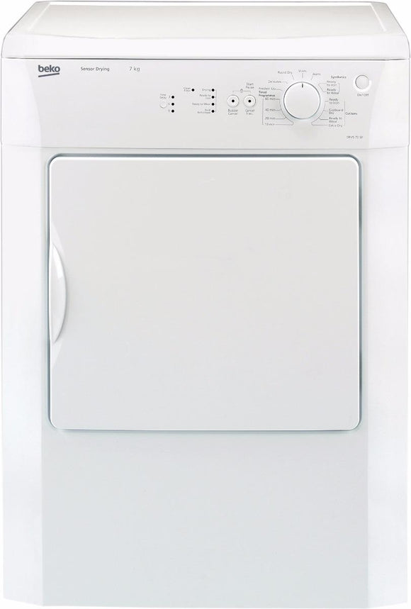Beko DRVS73W 7kg  Vented Tumble Dryer - White