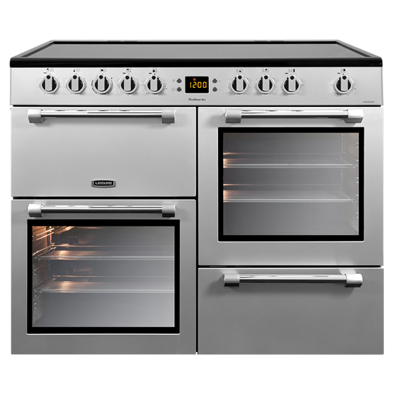 Leisure CK100C210S 100cm Electric Range Cooker - Silver