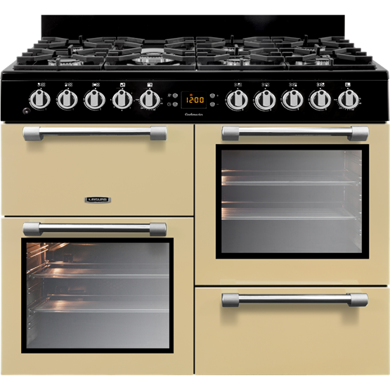 Leisure CK100G232C 100cms Gas Range Cooker - Cream