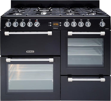 Leisure CK110F232K 110cms Dual Fuel Range Cooker - Black
