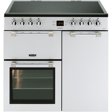 Leisure CK90C230S 90cms Electric Range Cooker - Silver