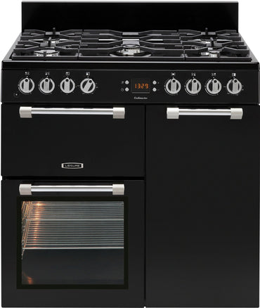 Leisure CK90G232K 90cms Gas/Electric Range Cooker - Black