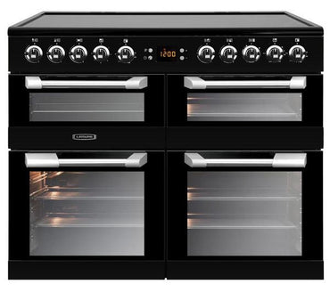 Leisure CS100C510K 100cms Electric Range Cooker - Black