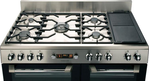 Leisure CS110F722X 110cms Dual Fuel Range Cooker - Stainless Steel