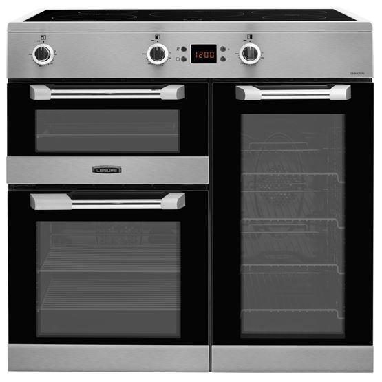 Leisure CS90D530X 90cm Electric Induction Range Cooker - Stainless Steel