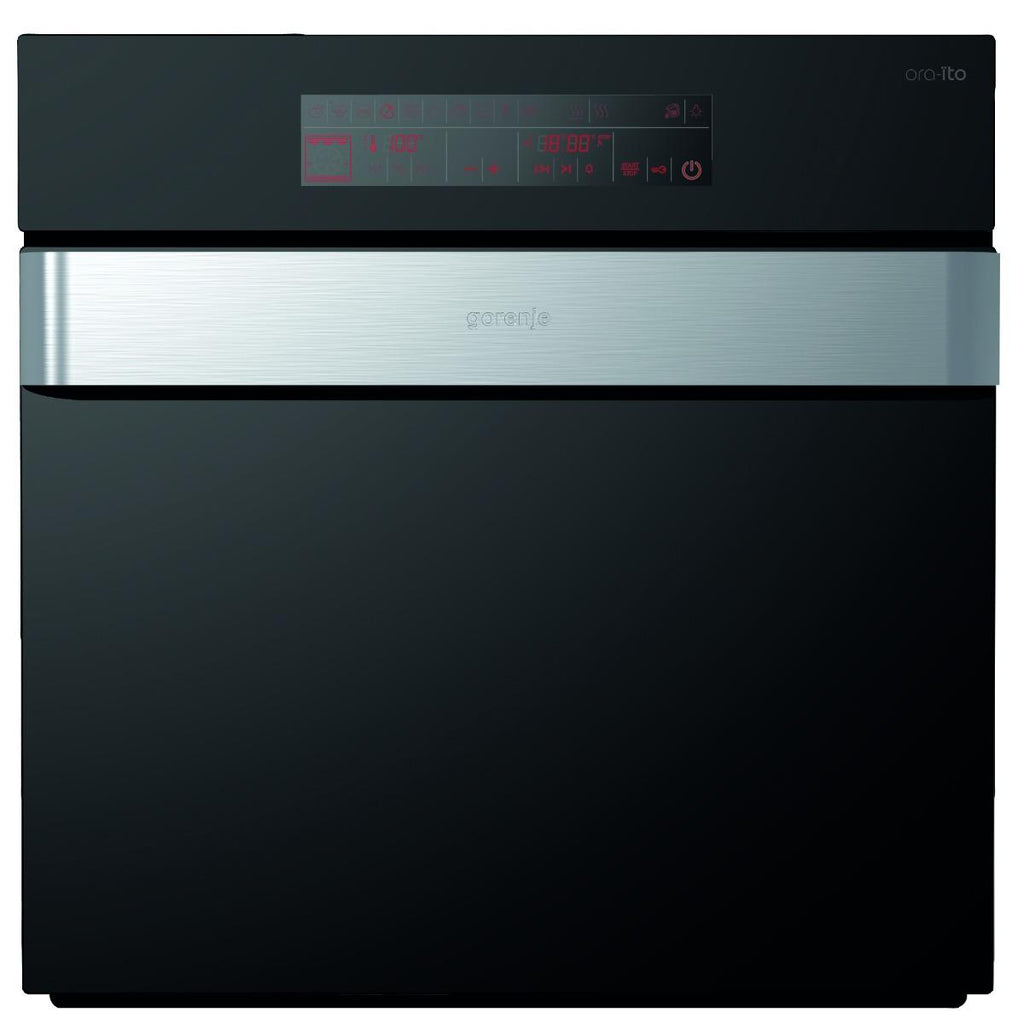 Gorenje BO87ORAXUK Built-In Electric Single Oven - Black & Stainless Steel