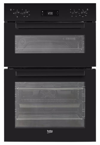 Beko BDF22300B Built-In Electric Double Oven - Black