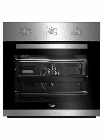Beko BIF22100X Built-In Electric Single Oven - Stainless Steel