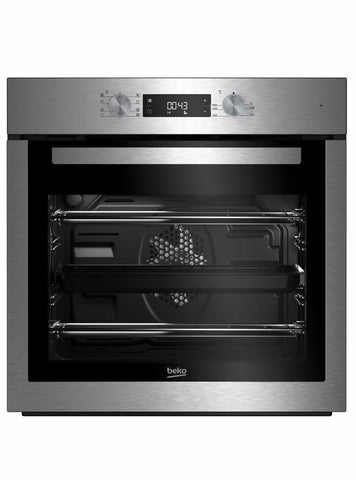 Beko BIM16300XC Built-In Electric Single Oven - Stainless Steel
