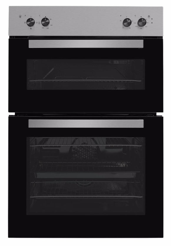 Beko BRDF21000X Built-In Electric Double Oven - Stainless Steel