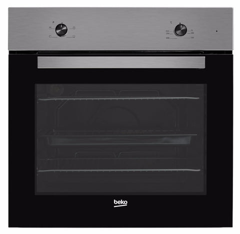 Beko BRIC21000X Built-In Electric Single Oven - Stainless Steel