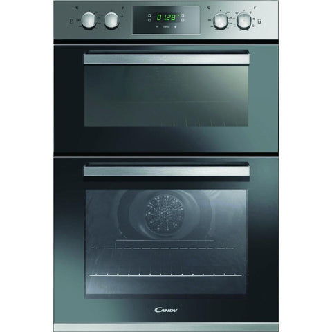 Candy FC9D815X 90cm Built-In Electric Double Oven - Stainless Steel