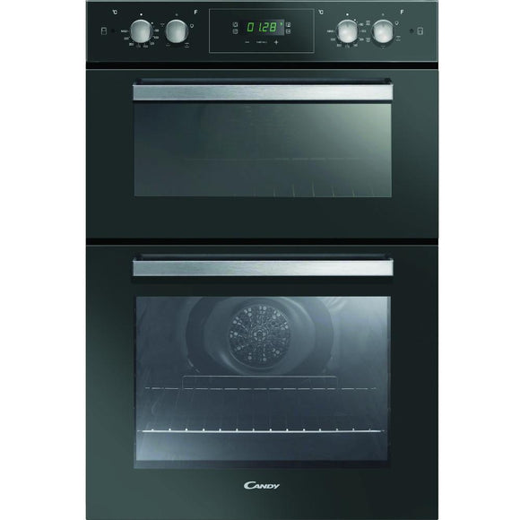 Candy FC9D815NX Built-In Electric Double Oven - Black
