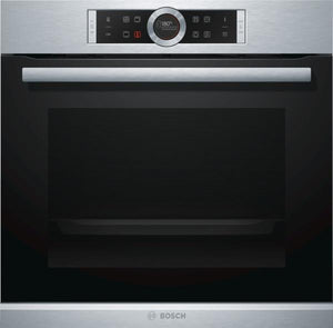 Bosch HBG674BS1B Built-In Electric Single Oven - Stainless Steel