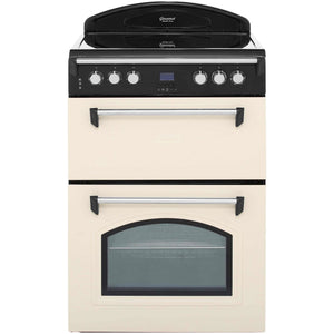 Leisure GRB6CVC 60cm Double Oven Electric Cooker - Cream