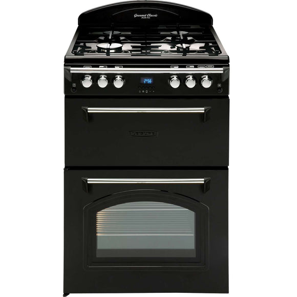 Leisure GRB6GVK Gas Cooker - Black