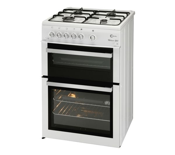 Flavel ML61NDWP Gas Cooker - White