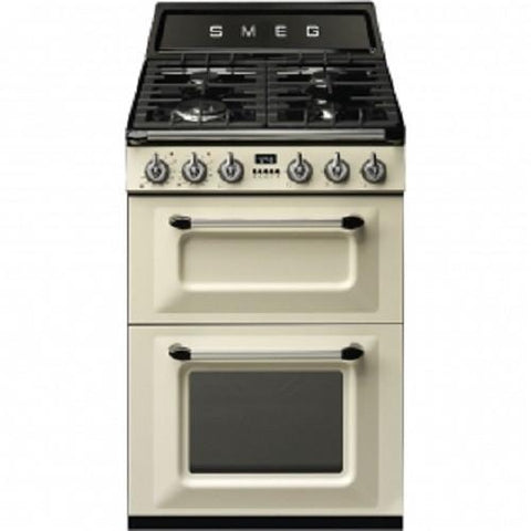 Smeg TR62P Dual Fuel Cooker - Cream