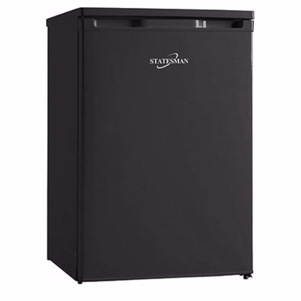 Statesman R155B  Under Counter  Fridge - Black