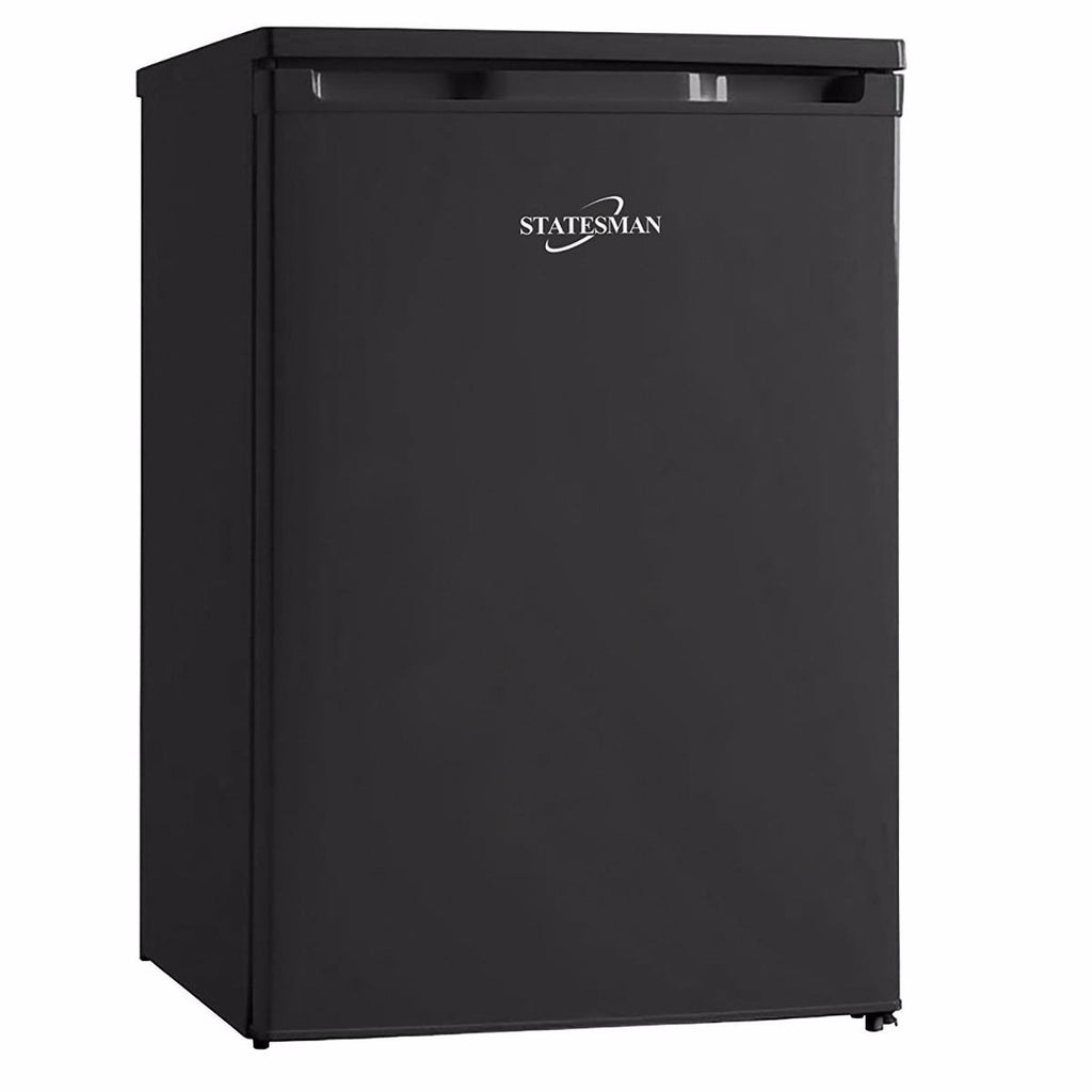 Statesman U355B  Under Counter Freezer - Black