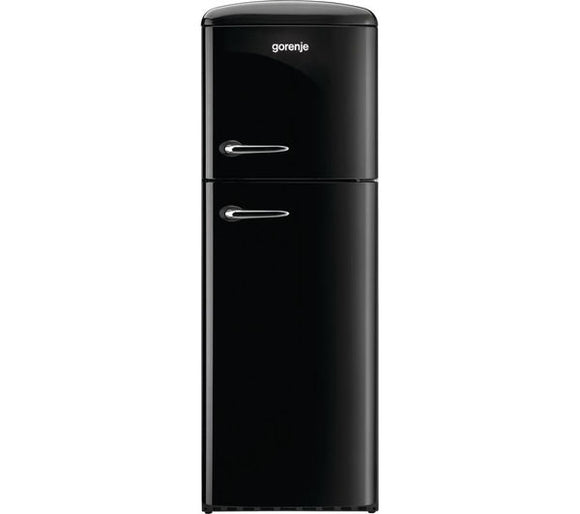 Gorenje RF60309OBK 80/20  Fridge Freezer  - Black