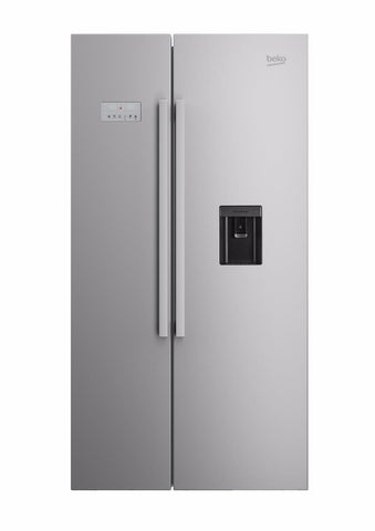 Beko ASD241X   American Fridge Freezer Frost Free - Stainless Steel