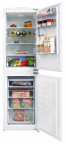 Beko BCB5050F 50/50 Built-In Fridge Freezer Frost Free - White
