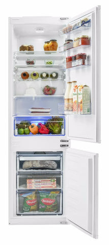 Beko BCB7030F 70/30 Built-In Fridge Freezer - White