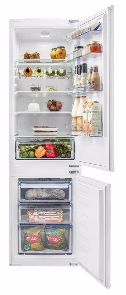 Beko BCFD173 70/30 Built-In Fridge Freezer - White