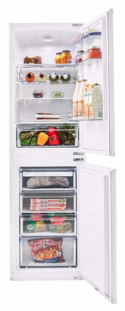 Beko BCSD150 50/50 Built In Fridge Freezer  - White
