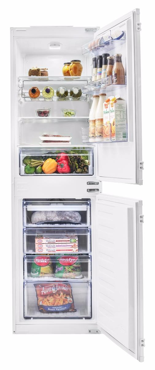 Beko BCFD150 50/50 Built-In Fridge Freezer Frost Free - White