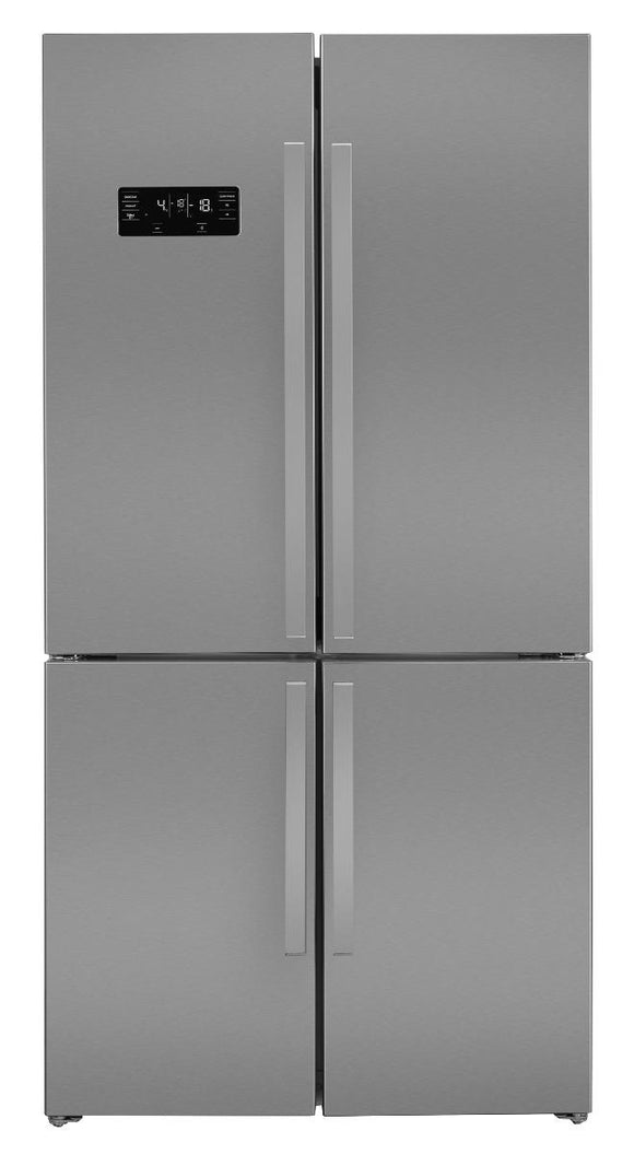 Beko GN1416221ZX American Fridge Freezer Frost Free - Stainless Steel