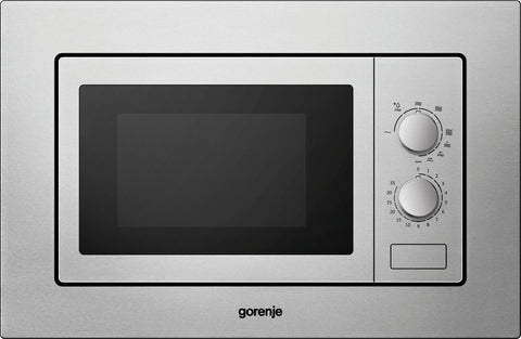 Gorenje BM171E2X 17lt Built-In Microwave + Grill- Stainless Steel